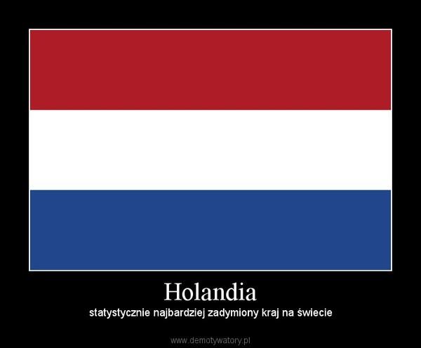 Holandia – statystycznie najbardziej zadymiony kraj na świecie