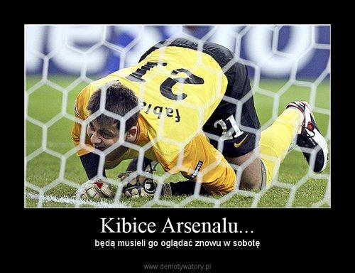 Kibice Arsenalu...