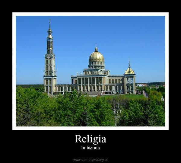 Religia – to biznes