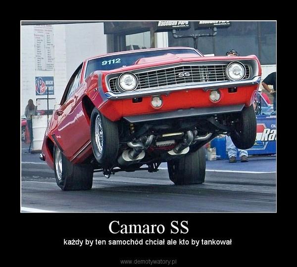 Camaro SS – każdy by ten samochód chciał ale kto by tankował