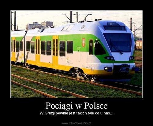 Pociągi w Polsce