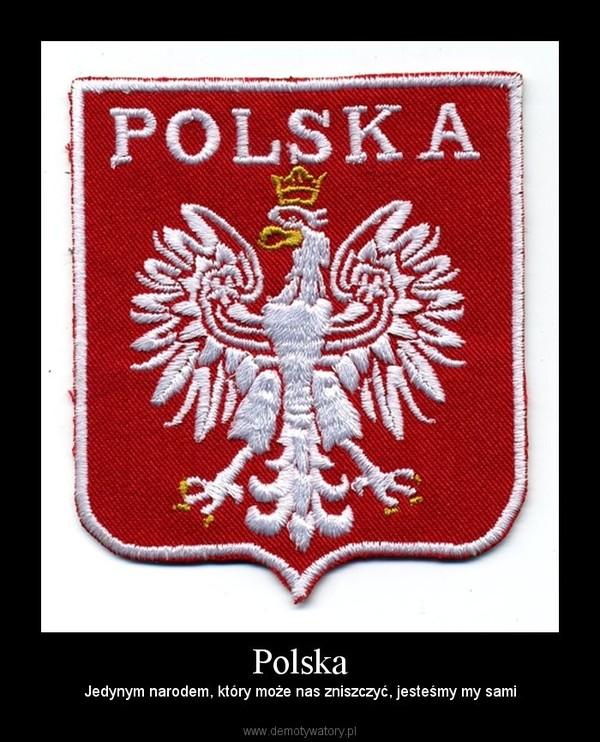 Polska – Jedynym narodem, który może nas zniszczyć, jesteśmy my sami