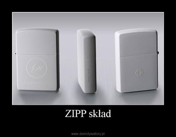 ZIPP skład –