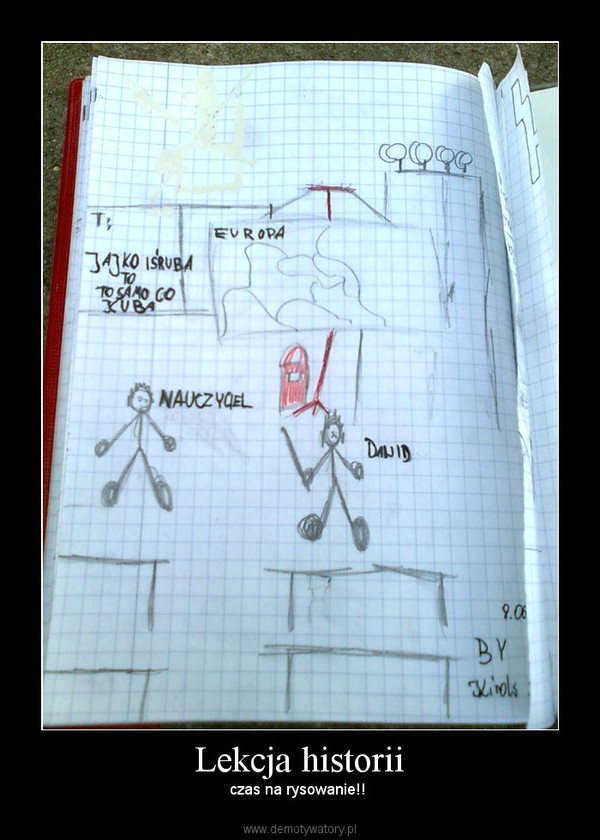 Lekcja historii – czas na rysowanie!!