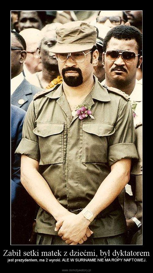 Zabił setki matek z dziećmi, był dyktatorem