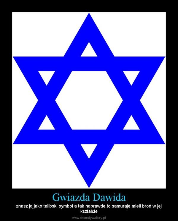 Gwiazda Dawida – znasz ją jako talibski symbol a tak naprawde to samuraje mieli broń w jejkształcie