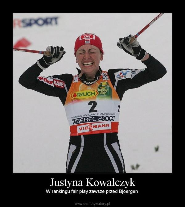Justyna Kowalczyk – W rankingu fair play zawsze przed Bjoergen