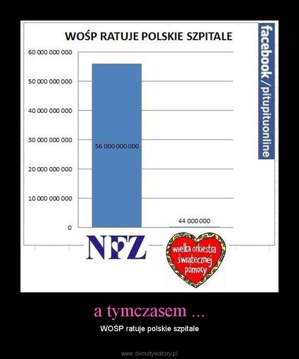 a tymczasem ... – WOŚP ratuje polskie szpitale