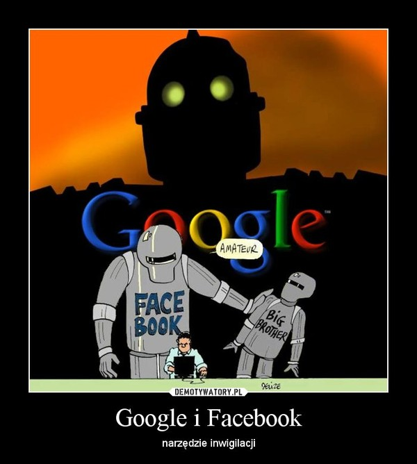 Google i Facebook – narzędzie inwigilacji