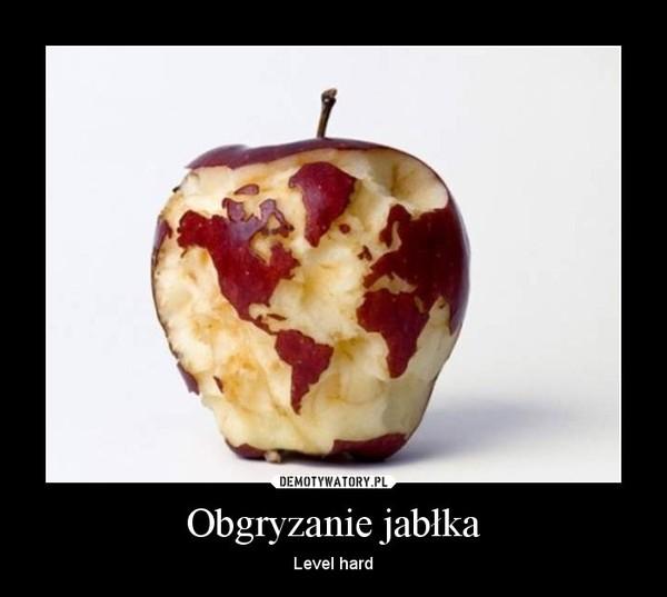 Obgryzanie jabłka – Level hard