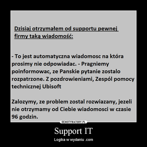 Support IT
