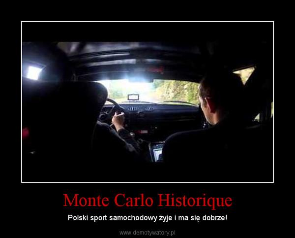Monte Carlo Historique – Polski sport samochodowy żyje i ma się dobrze!