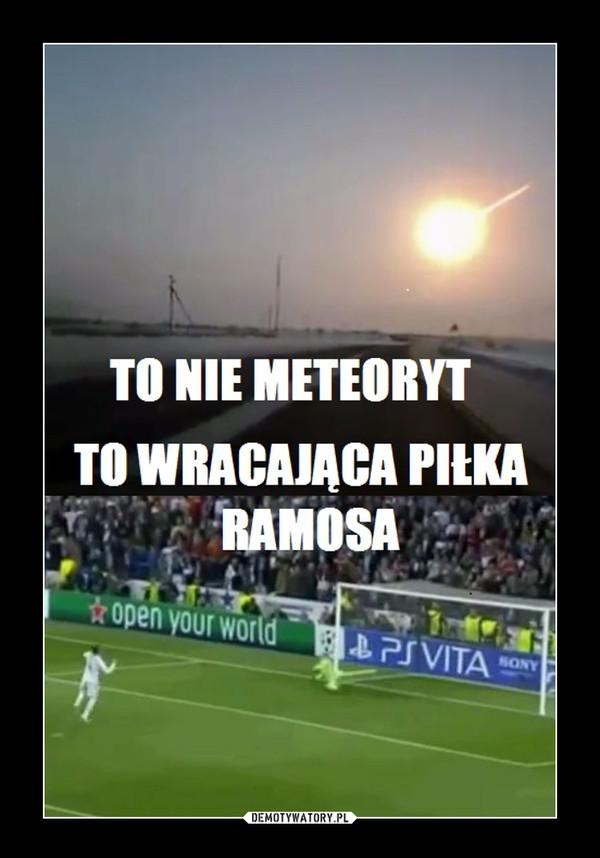 Ramos powraca! –