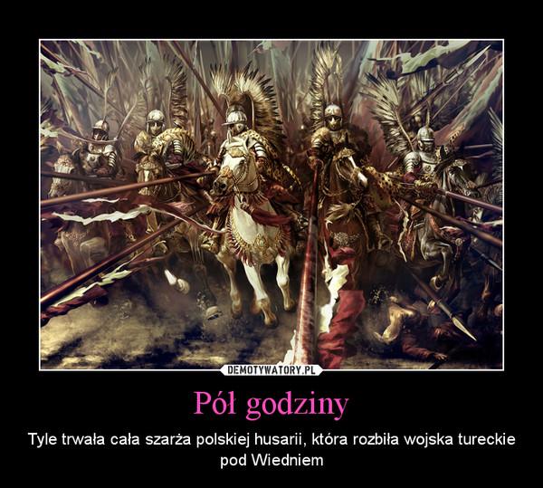 Pół godziny – Tyle trwała cała szarża polskiej husarii, która rozbiła wojska tureckie pod Wiedniem