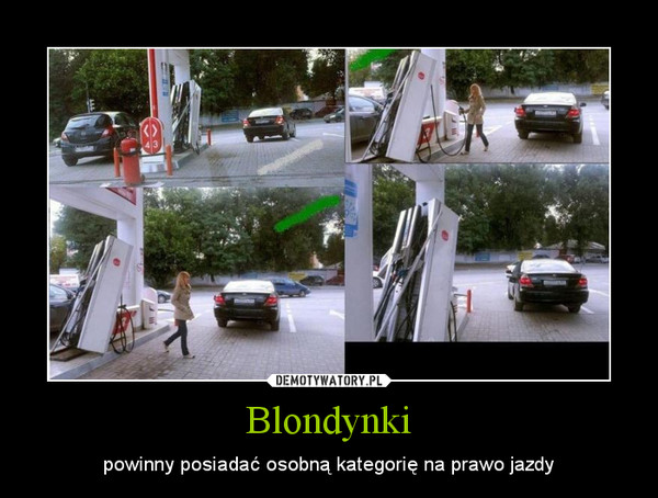 Blondynki – powinny posiadać osobną kategorię na prawo jazdy