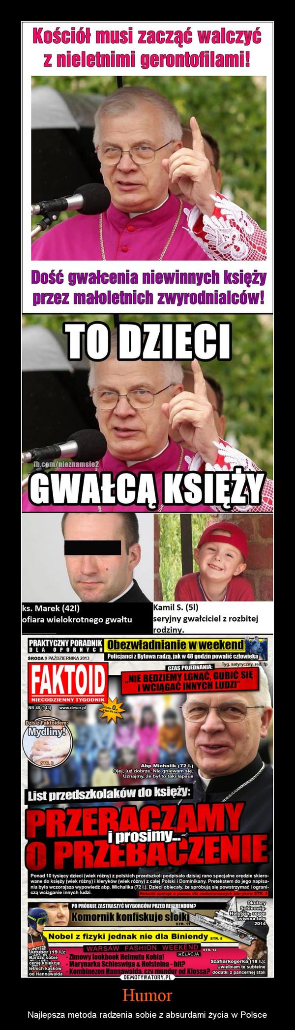Humor – Najlepsza metoda radzenia sobie z absurdami życia w Polsce