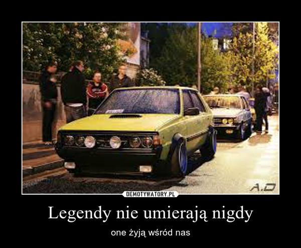 Legendy nie umierają nigdy – one żyją wśród nas