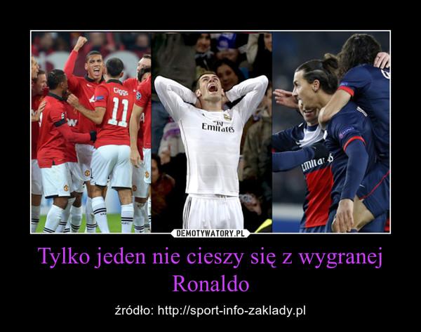 Tylko jeden nie cieszy się z wygranej Ronaldo – źródło: http://sport-info-zaklady.pl