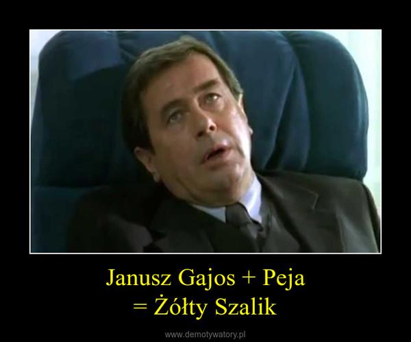 Janusz Gajos + Peja= Żółty Szalik –