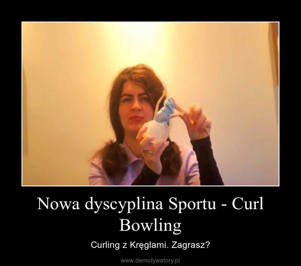 Nowa dyscyplina Sportu - Curl Bowling – Curling z Kręglami. Zagrasz?