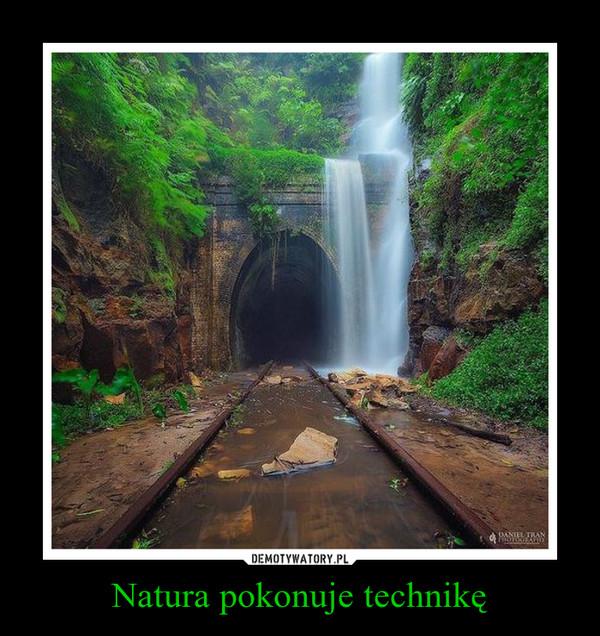 Natura pokonuje technikę –