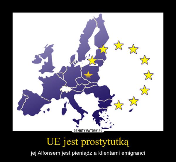 UE jest prostytutką – jej Alfonsem jest pieniądz a klientami emigranci