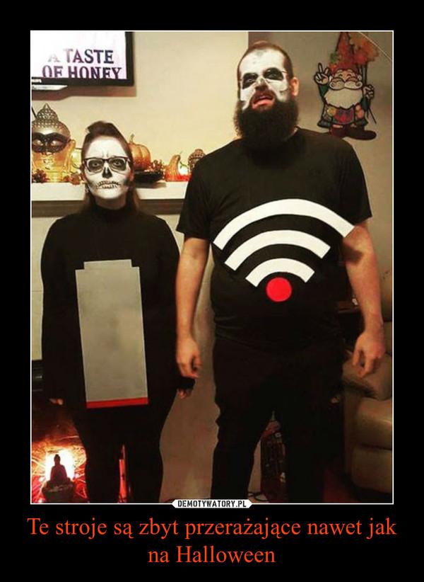 Te stroje są zbyt przerażające nawet jak na Halloween –