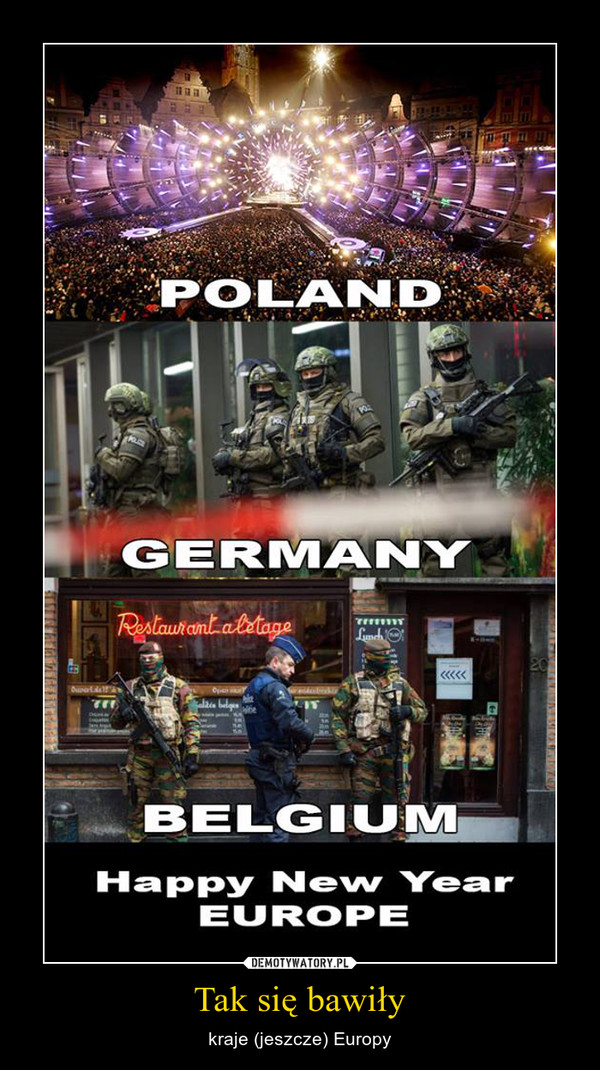 Tak się bawiły – kraje (jeszcze) Europy