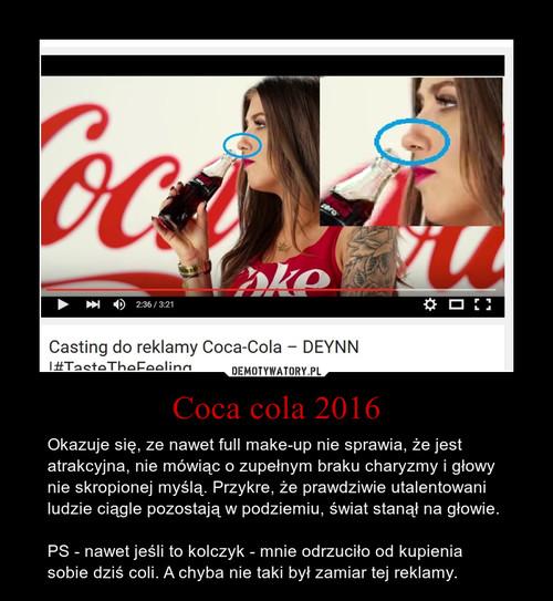 Coca cola 2016