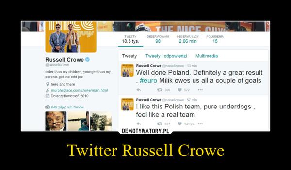 Twitter Russell Crowe –