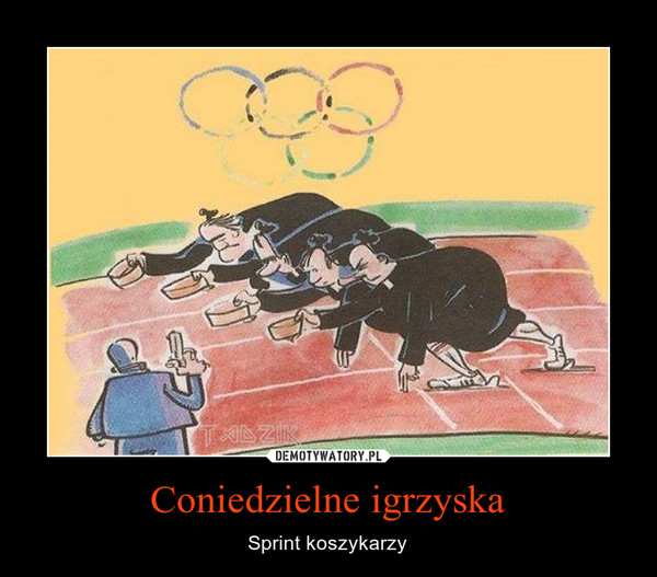 Coniedzielne igrzyska – Sprint koszykarzy