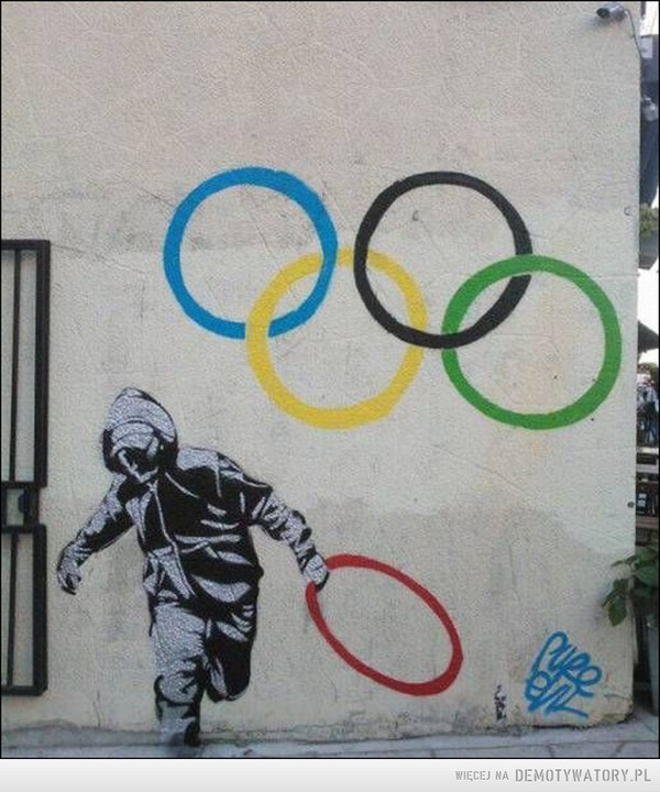 Mural na koksie –