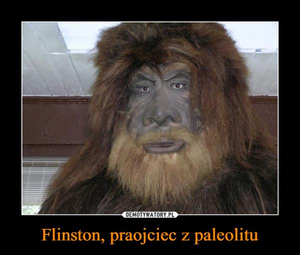 Flinston, praojciec z paleolitu –