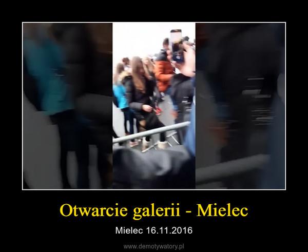 Otwarcie galerii - Mielec – Mielec 16.11.2016