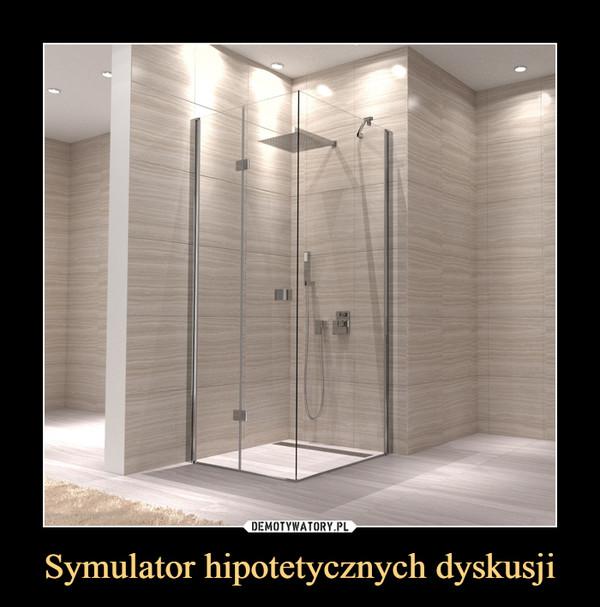 Symulator hipotetycznych dyskusji –