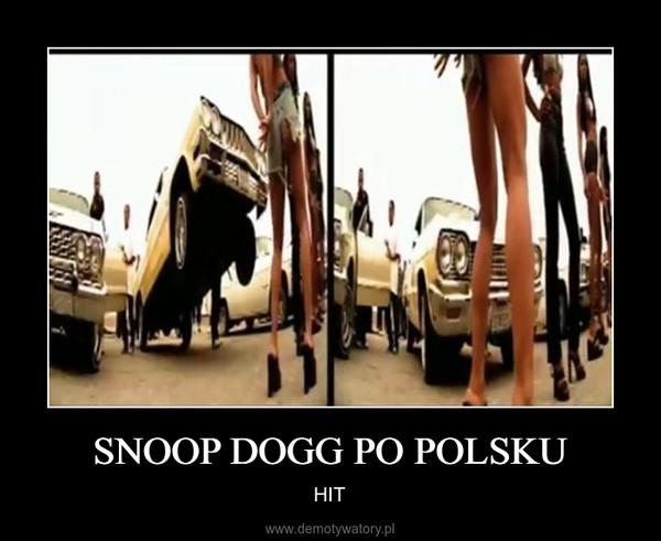 SNOOP DOGG PO POLSKU – HIT