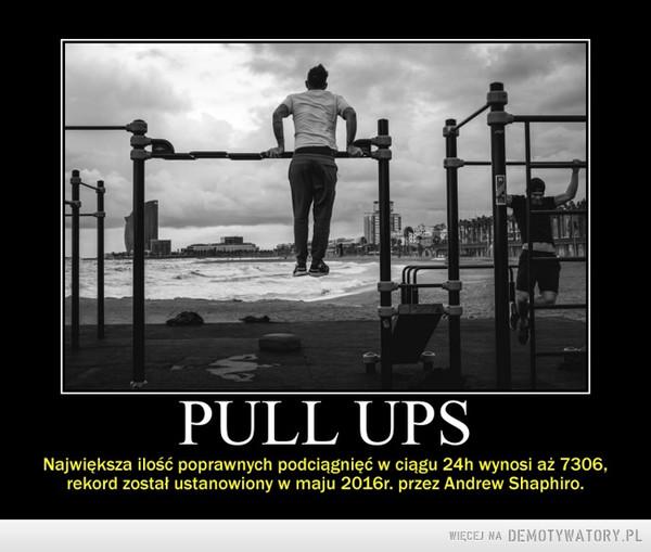 PULL UPS - rekord w podciąganiu –