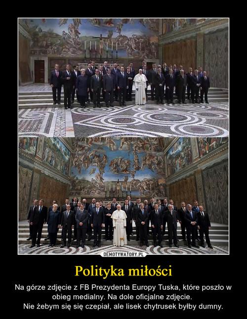 Polityka miłości