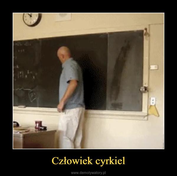 Człowiek cyrkiel –