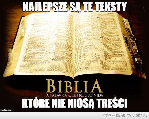 Pismo święte –