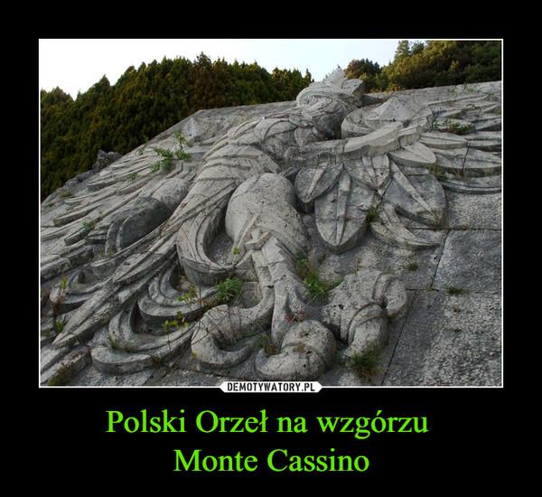 Polski Orzeł na wzgórzu Monte Cassino –
