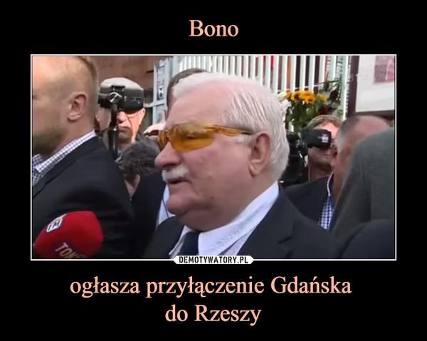 ogłasza przyłączenie Gdańska do Rzeszy –