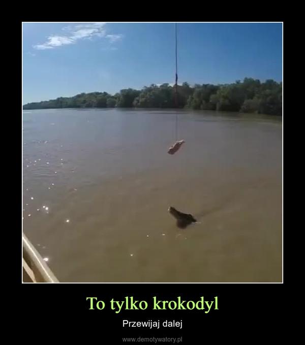 To tylko krokodyl – Przewijaj dalej