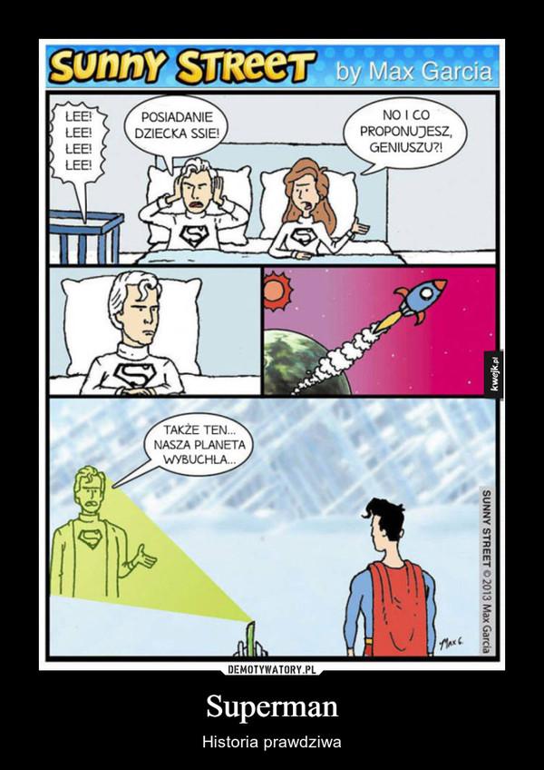 Superman – Historia prawdziwa