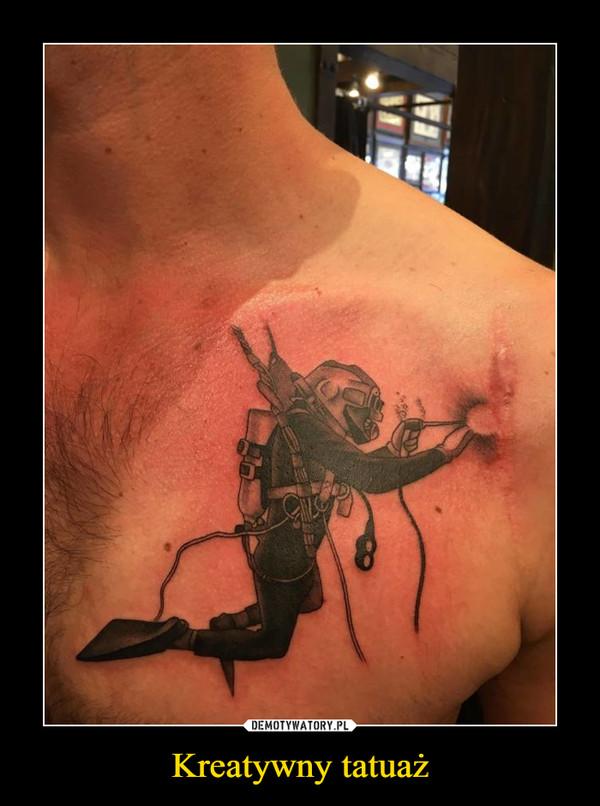 Kreatywny tatuaż –