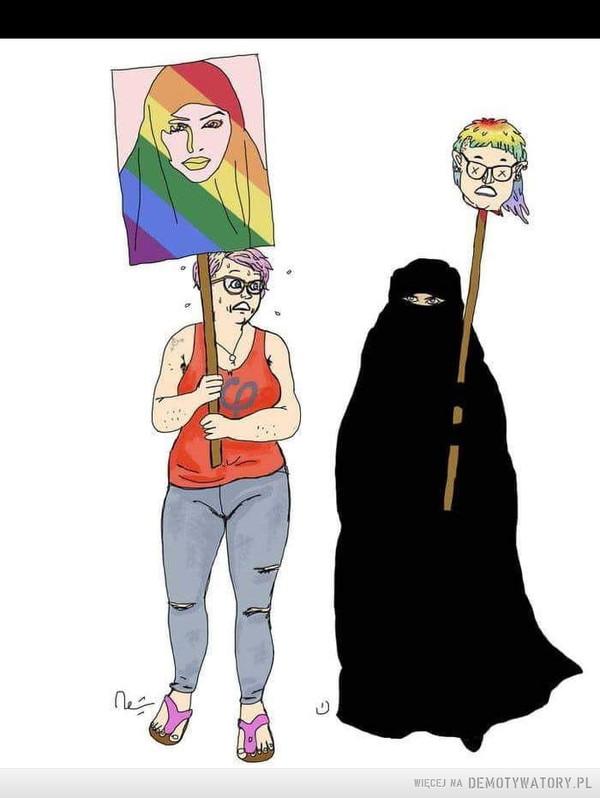 LGBT przeciwko islamofobii –