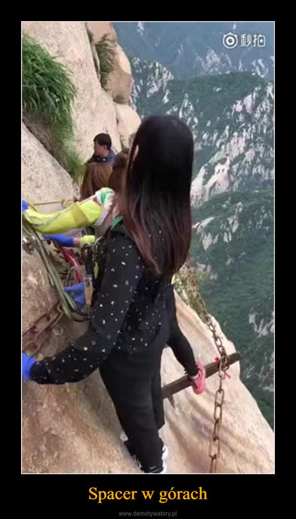 Spacer w górach –