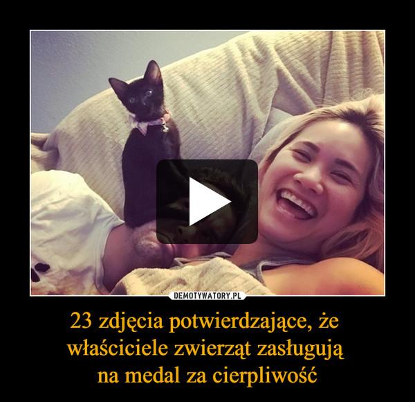 23 zdjęcia potwierdzające, że właściciele zwierząt zasługują na medal za cierpliwość –
