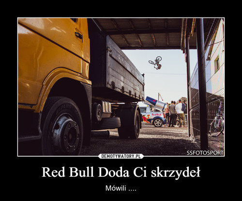 Red Bull Doda Ci skrzydeł