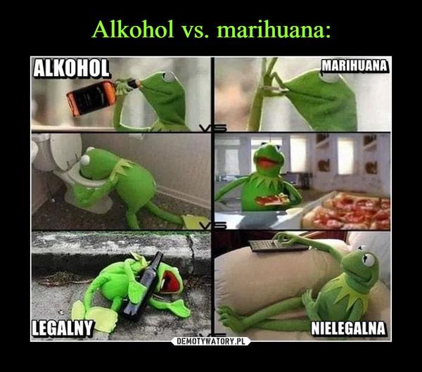 –  ALKOHOL MARIHUANALEGALNY NIELEGALNA